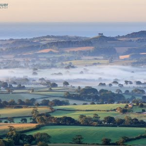 Mark Bauer Photography | Misty morning, Marshwood Vale
