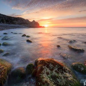 Mark Bauer Photography | Summer Sunrise, Church Ope Cove, Portland