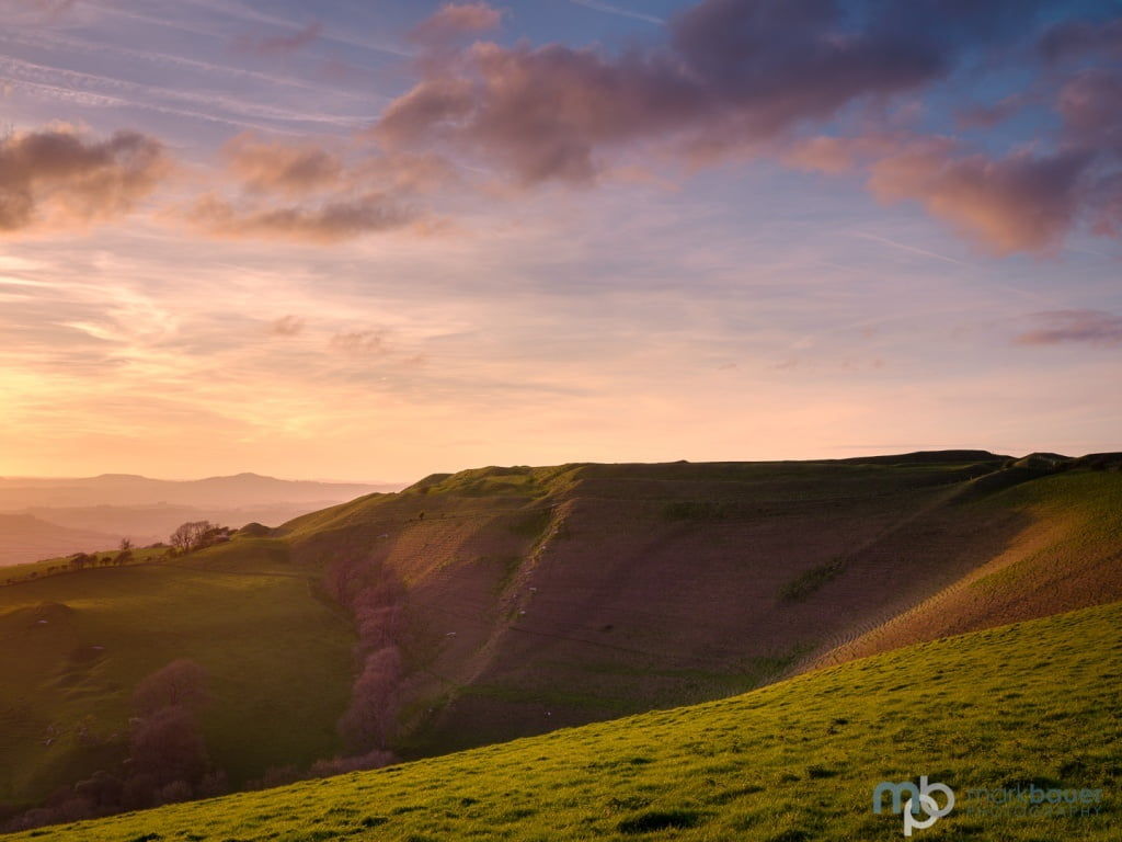 Mark Bauer Photography | Sunset, Eggardon Hill