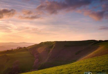 Mark Bauer Photography | Sunset, Eggardon Hill