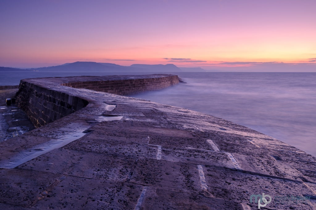 Mark Bauer Photography | First light, The Cobb, Lyme Regis