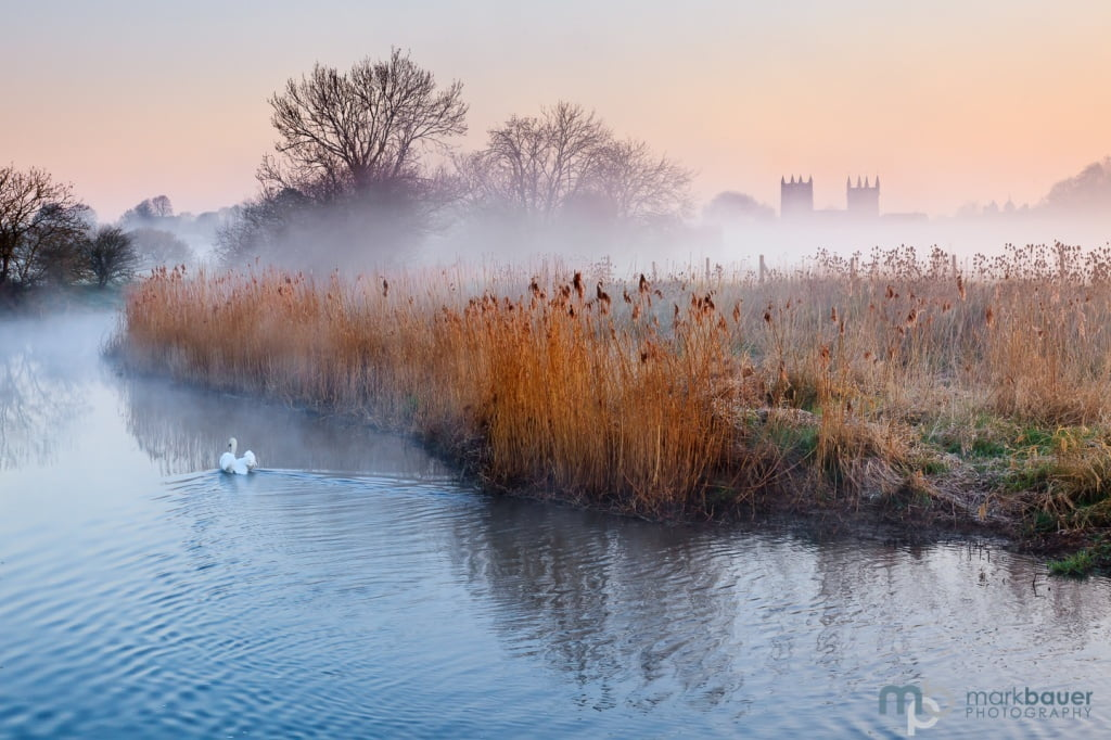 Mark Bauer Photography | Misty morning, Wimborne Minster