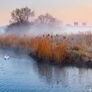 Mark Bauer Photography | Misty morning, Wimborne Minster