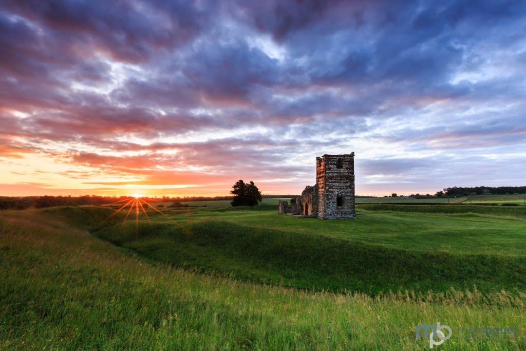 Mark Bauer Photography   Summer Sunrise, Knowlton Church
