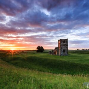 Mark Bauer Photography | Summer Sunrise, Knowlton Church