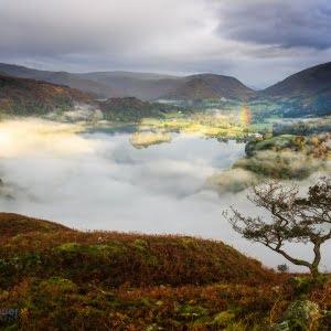 Mark Bauer Photography | Misty dawn, Grasmere, Lake District