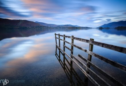 Mark Bauer Photography | Evening light, Derwent Water, Lake District
