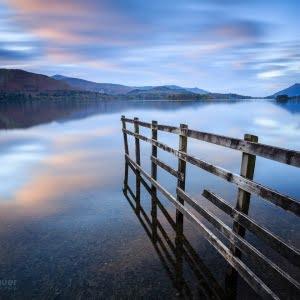 Mark Bauer Photography | Evening light, Derwent Water, Lake District