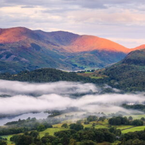 Mark Bauer Photography | Mist over Elterwater, Lake District