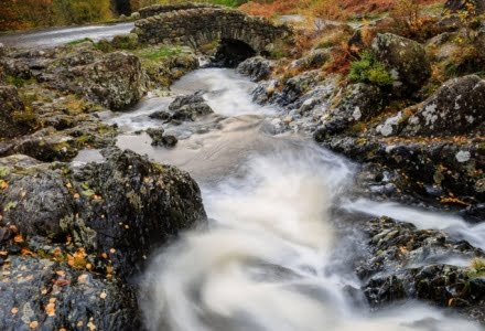 Mark Bauer Photography | An autumn afternoon, Ashness Bridge, Lake District