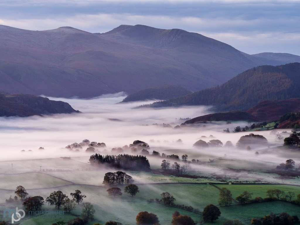 Mark Bauer Photography | Autumn mist, Latrigg, Lake District