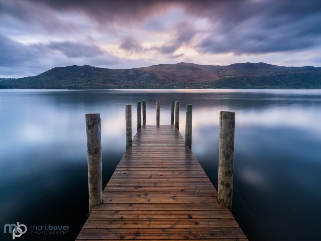 Mark Bauer Photography | Dawn, Brandelhow Jetty, Lake District