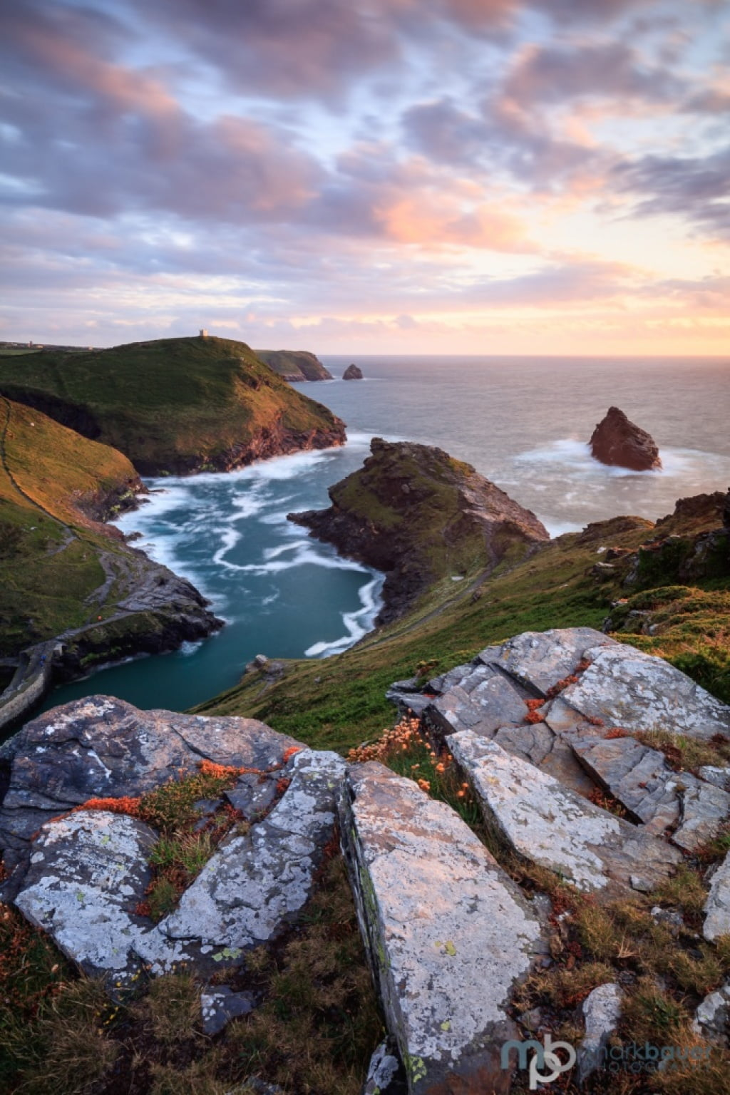 Mark Bauer Photography | Sunset, Boscastle, Cornwall