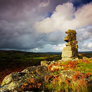 Mark Bauer Photography | Autumn showers, Bowerman's Nose, Dartmoor