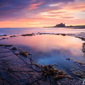 Mark Bauer Photography | Winter sunrise, Bamburgh, Northumberland