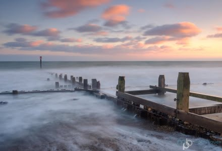 Mark Bauer Photography | Incoming tide, Cart Gap, Norfolk