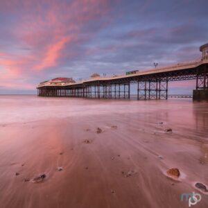 Mark Bauer Photography | Winter Sunset, Cromer Pier, Norfolk