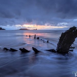 Mark Bauer Photography | Incoming Tide, Rhossili Bay, The Gower, Wales
