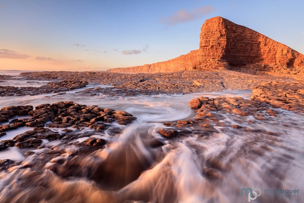 Mark Bauer Photography | Golden Light, Nash Point, Glamorgan, Wales