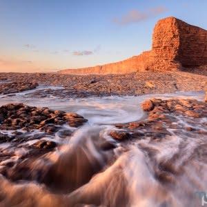 Mark Bauer Photography | Golden Light, Nash Point, Glamorgan, Wales