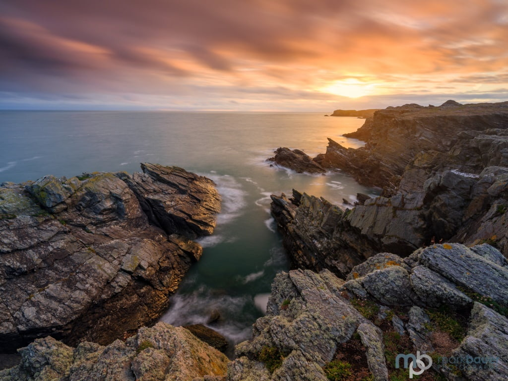 Mark Bauer Photography | Sunset, Porth Dafarch, Angelsey