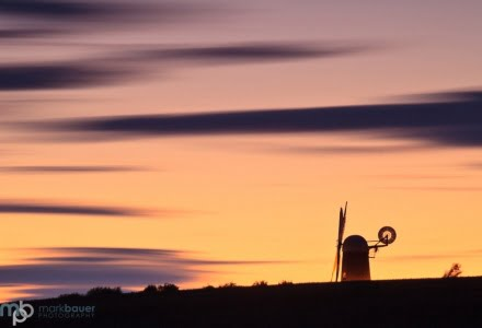 Mark Bauer Photography | Sunset, Wilton Windmill, Wiltshire