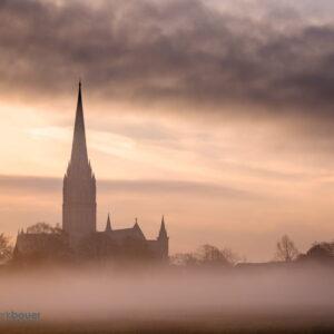 Mark Bauer Photography | Sunrise, Salisbury Cathedral