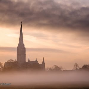 Mark Bauer Photography | Sunrise, Salisbury Cathedral
